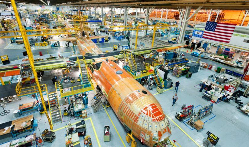 Cadena de montaje del C-130J Super Hercules