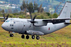 La nueva configuración del C-27J Spartan realiza el primer vuelo