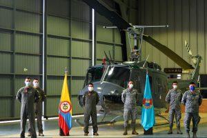 CAMAN, Fuerza Aérea de Colombia, UH1H, HUEY II