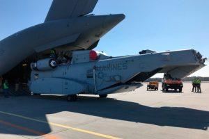 El helicóptero CH-53 King llega a Alemania para su debut internacional en ILA Berlin Air Show