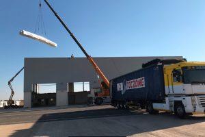 CRIA realiza obras de reparación en la terminal de handling del Aeropuerto de Ciudad Real