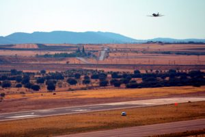 Un avión sobrevoló el Aeropuerto de Ciudad Real para calibrar sistemas de ayuda