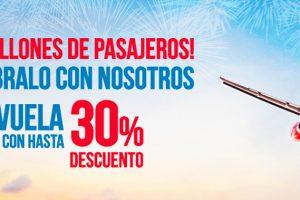 Iberia Express alcanza los 18 millones de pasajeros y lo festeja con descuentos