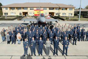 La ministra de Defensa visita la Base Aérea de Los LLanos