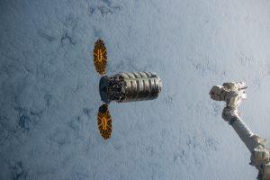 Cygnus va de camino a la Estación Espacial Internacional