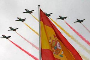 Más de 2.600 efectivos participan en el acto central del Día de las Fuerzas Armadas en Logroño