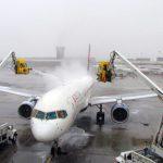Delta explica como combate la formación de hielo en sus aviones