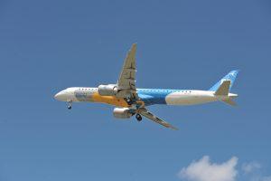 Primer vuelo del E195-E2