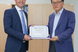 La agencia espacial de Corea del Sur otorga el Premio a la Excelencia a Thales Alenia Space España