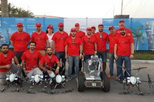 Un equipo de investigadores e ingenieros españoles supera con éxito la competición MBZIRC