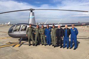 Oficiales pilotos de la Policía Nacional del Perú complementan su formación en European Flyers