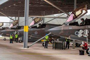 Cazas F-35 de la RAF