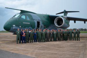Segundo KC-390 FAB