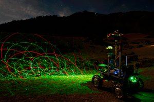 GMV pone a prueba su rover lunar en el P.N. Teide