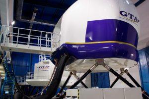 GTA inaugura su nuevo simulador de vuelo ATR 72-600