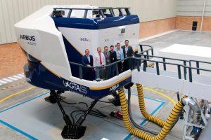 El simulador de vuelo A320 de GTA en Bogotá recibe la certificación