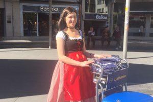 Lufthansa lanza Galimania la campaña que combina las tradiciones gallegas y alemanas