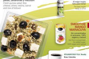 Iberia Express apuesta por la alimentación saludable
