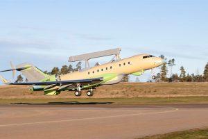 El segundo GlobalEye completa su primer vuelo