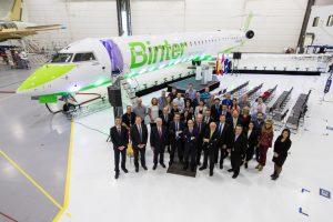 Binter adquiere dos nuevos CRJ1000