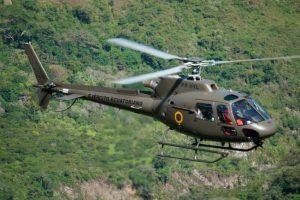 El Ejército del Ecuador recibe un helicóptero H125