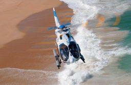 H145, Pegaso, Airbus, helicóptero, mar