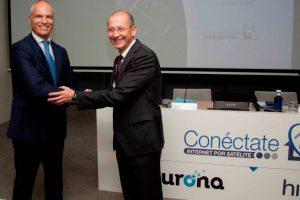 Eurona e Hispasat lanzan el proyecto  'Conéctate por Satélite'