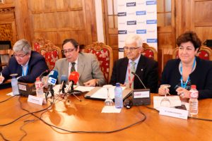 HISPASAT reúne a las compañías líderes del sector aeroespacial y tecnológico