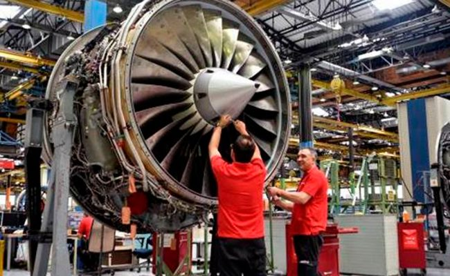 Iberia Mantenimiento consigue un contrato para mantener los motores de los B757 de DHL