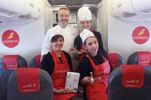 Iberia Express  celebra el día mundial de la tapa