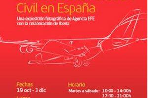 El Conde Duque abre una exposición sobre la Historia de la Aviación y los 90 años de Iberia