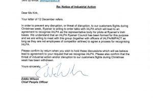 Ryanair reconoce a los sindicatos de pilotos para evitar huelgas en la semana de navidad