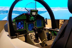 Indra ya trabaja en la nueva versión del simulador del Eurofighter