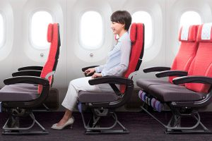 JAL mejora su asiento de clase turista