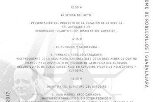 Evento en Guadalajara de la Asociación Juan de la Cierva Codorniu