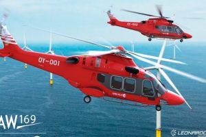 El AW169 entra en el mercado de soporte de parques eólicos del Reino Unido