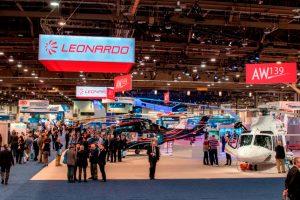 Leonardo anuncia pedidos de helicópteros en Heli-Expo 2018 por casi 140 millones de euros