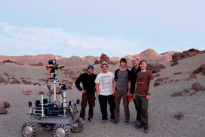GMV realiza pruebas de robótica espacial en el Parque Nacional del Teide