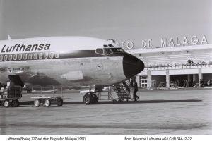 50 años de Lufthansa en Málaga