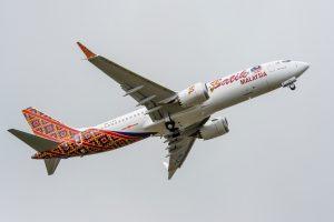 Boeing entrega el primer 737MAX a Malindo Air