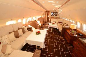 El ACJ319 de Airbus presente en la ABACE show