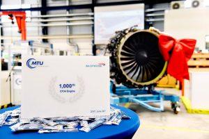 MTU Maintenance completa la visita técnica número 1000 de motores CF34