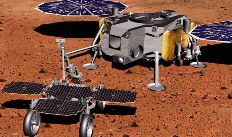 Martian-Sample-Fetch-Rover-