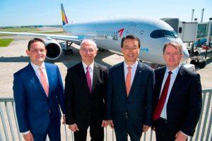 Asiana recibe su primer A350-900
