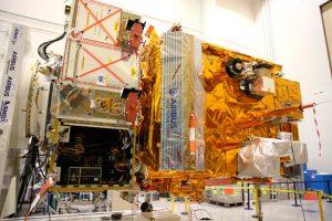 El satélite meteorológico MetOp-C se prepara para su lanzamiento