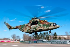 El helicóptero Mi-26T2V completa pruebas de vuelo preliminares