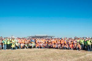 El 'VIII OpenDay MAD' reúne a ciento cincuenta spotters en el Aeropuerto de Barajas