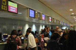 El Prat reanuda la operativa especial de facturación de pasajeros de cruceros