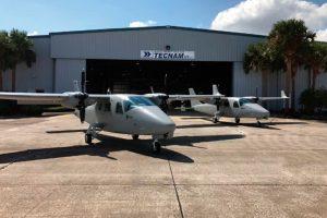 La filial norteamericana de Tecnam entrega las primeras 3 de las 30 aeronaves destinadas a misiones especiales