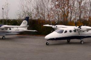 Primer vuelo de la segunda unidad del P2012 Traveller